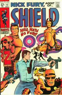 Cover Thumbnail for Nick Fury, Agent of SHIELD (Marvel, 1968 series) #12