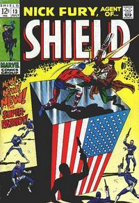 Cover Thumbnail for Nick Fury, Agent of SHIELD (Marvel, 1968 series) #13