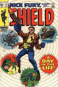 Cover Thumbnail for Nick Fury, Agent of SHIELD (Marvel, 1968 series) #14