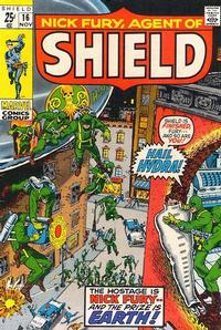 Cover Thumbnail for Nick Fury, Agent of SHIELD (Marvel, 1968 series) #16