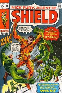 Cover Thumbnail for Nick Fury, Agent of SHIELD (Marvel, 1968 series) #17
