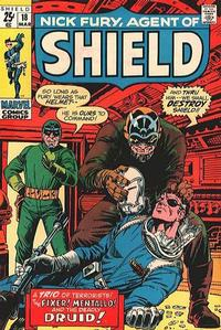 Cover Thumbnail for Nick Fury, Agent of SHIELD (Marvel, 1968 series) #18
