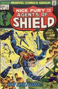 Cover Thumbnail for SHIELD [Nick Fury and His Agents of SHIELD] (Marvel, 1973 series) #1
