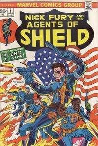 Cover Thumbnail for SHIELD [Nick Fury and His Agents of SHIELD] (Marvel, 1973 series) #2
