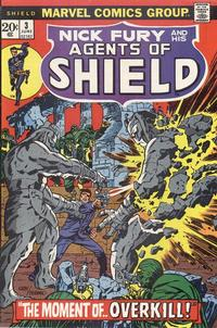 Cover Thumbnail for SHIELD [Nick Fury and His Agents of SHIELD] (Marvel, 1973 series) #3