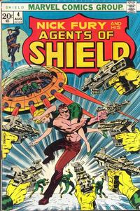 Cover Thumbnail for SHIELD [Nick Fury and His Agents of SHIELD] (Marvel, 1973 series) #4
