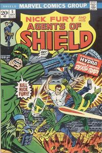 Cover Thumbnail for SHIELD [Nick Fury and His Agents of SHIELD] (Marvel, 1973 series) #5