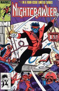 Cover Thumbnail for Nightcrawler (Marvel, 1985 series) #1 [Direct]
