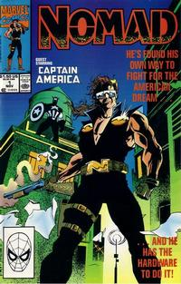 Cover Thumbnail for Nomad (Marvel, 1990 series) #1 [Direct]