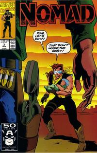 Cover Thumbnail for Nomad (Marvel, 1990 series) #3 [Direct]
