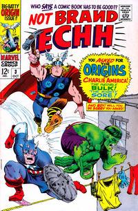 Cover Thumbnail for Not Brand Echh (Marvel, 1967 series) #3