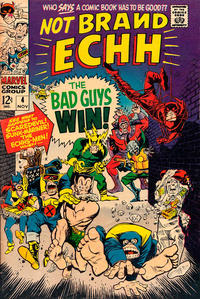 Cover Thumbnail for Not Brand Echh (Marvel, 1967 series) #4