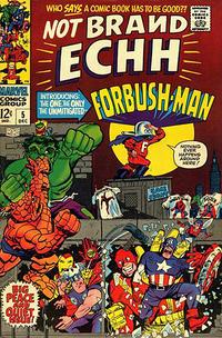 Cover Thumbnail for Not Brand Echh (Marvel, 1967 series) #5