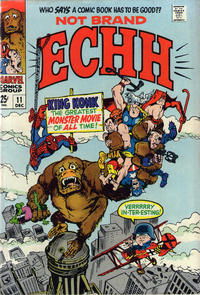 Cover Thumbnail for Not Brand Echh (Marvel, 1967 series) #11