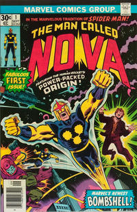 Cover Thumbnail for Nova (Marvel, 1976 series) #1 [Newsstand Edition]
