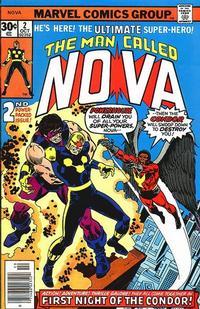 Cover Thumbnail for Nova (Marvel, 1976 series) #2