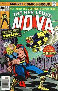 Cover Thumbnail for Nova (Marvel, 1976 series) #4 [Newsstand]
