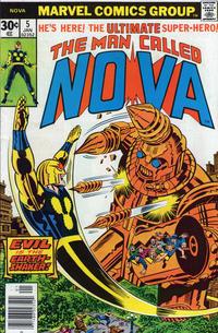 Cover Thumbnail for Nova (Marvel, 1976 series) #5 [Regular Edition]