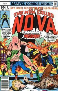 Cover Thumbnail for Nova (Marvel, 1976 series) #8