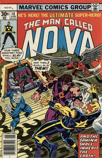 Cover Thumbnail for Nova (Marvel, 1976 series) #10 [30¢ edition]