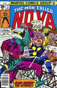 Cover Thumbnail for Nova (Marvel, 1976 series) #11 [30¢ edition]