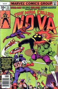 Cover Thumbnail for Nova (Marvel, 1976 series) #15