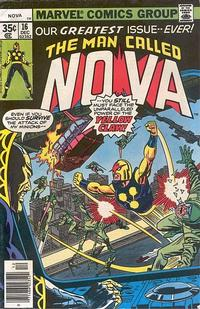 Cover for Nova (Marvel, 1976 series) #16