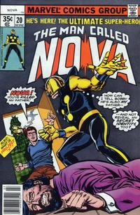 Cover Thumbnail for Nova (Marvel, 1976 series) #20 [Regular Edition]
