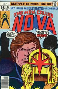 Cover Thumbnail for Nova (Marvel, 1976 series) #21