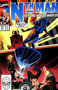 Cover Thumbnail for Nth Man the Ultimate Ninja (Marvel, 1989 series) #11