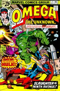 Cover Thumbnail for Omega the Unknown (Marvel, 1976 series) #2