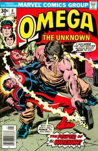 Cover Thumbnail for Omega the Unknown (Marvel, 1976 series) #6