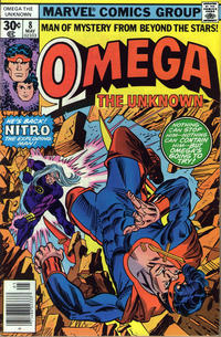 Cover Thumbnail for Omega the Unknown (Marvel, 1976 series) #8