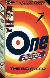 Cover Thumbnail for The One (Marvel, 1985 series) #1
