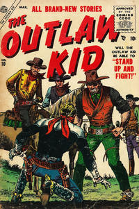 Cover Thumbnail for The Outlaw Kid (Marvel, 1954 series) #10