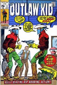 Cover Thumbnail for The Outlaw Kid (Marvel, 1970 series) #2