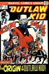 Cover Thumbnail for The Outlaw Kid (Marvel, 1970 series) #27