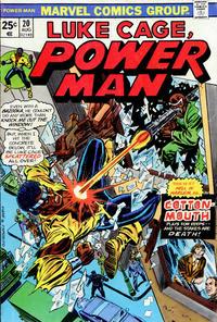Cover Thumbnail for Power Man (Marvel, 1974 series) #20