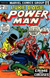 Cover Thumbnail for Power Man (Marvel, 1974 series) #25