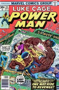 Cover Thumbnail for Power Man (Marvel, 1974 series) #35