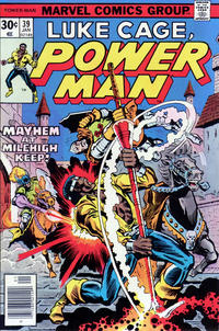 Cover Thumbnail for Power Man (Marvel, 1974 series) #39