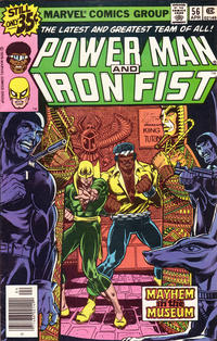 Cover for Power Man (Marvel, 1974 series) #56