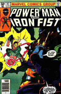 Cover Thumbnail for Power Man and Iron Fist (Marvel, 1981 series) #67 [newsstand]