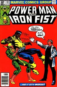 Cover Thumbnail for Power Man and Iron Fist (Marvel, 1981 series) #68 [newsstand]