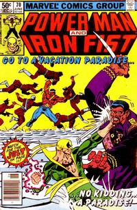 Cover Thumbnail for Power Man and Iron Fist (Marvel, 1981 series) #70 [newsstand]