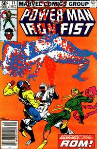 Cover Thumbnail for Power Man and Iron Fist (Marvel, 1981 series) #73