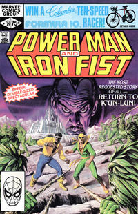 Cover for Power Man and Iron Fist (Marvel, 1981 series) #75 [Direct Edition]