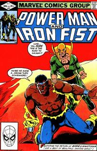 Cover for Power Man and Iron Fist (Marvel, 1981 series) #81