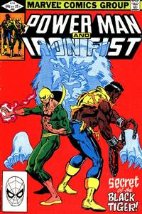 Cover for Power Man and Iron Fist (Marvel, 1981 series) #82 [newsstand]