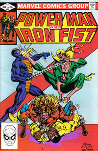Cover Thumbnail for Power Man and Iron Fist (Marvel, 1981 series) #84 [direct]